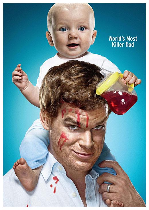 Портретный постер Dexter / Декстер